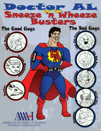 doctor al and the sneeze n wheeze busters coloring book