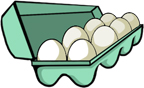 egg carton - egg allergy