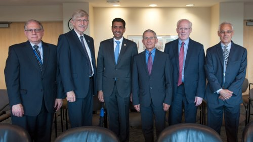 AAAAI President, Representative Ro Khanna and NIH Leaders